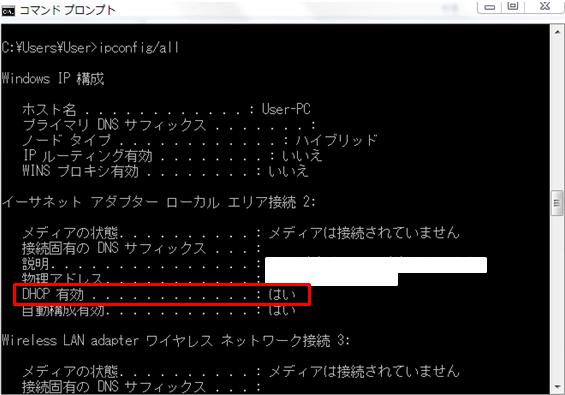 DHCP_ipconfig